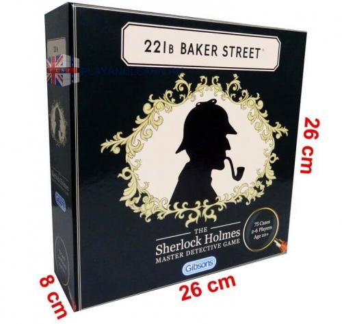 221B Baker Street. Sherlock Holmes