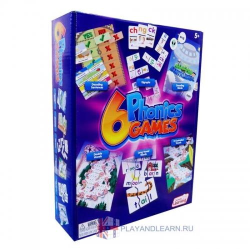 6 Phonics Games
