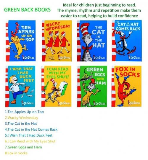 A Classic Case of Dr. Seuss (20 books + 3 CD)