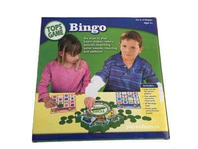 The Little Frog Bingo
