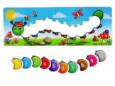 Counting Caterpillars настольная игра