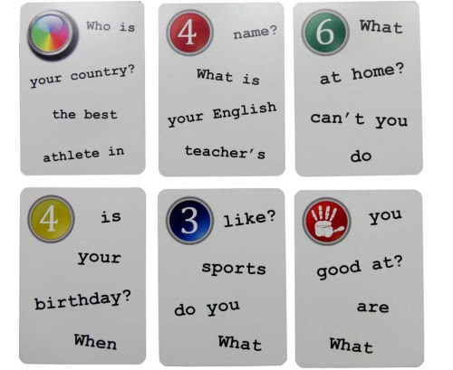 My First 50 Questions Fun Cards