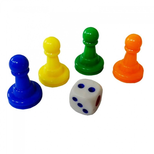 Dice and 4 Chips