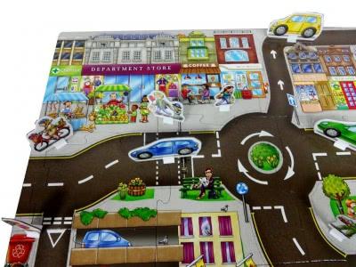 Giant Town английская настольная игра