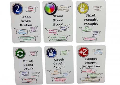 Irregular Verbs Fun Cards