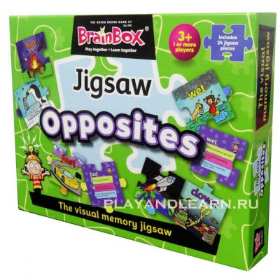 BrainBox Opposites Jigsaw