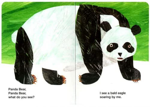 Panda Bear, Panda Bear, What Do You See? для детей