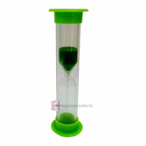 Sand Timer (60 seconds, green)