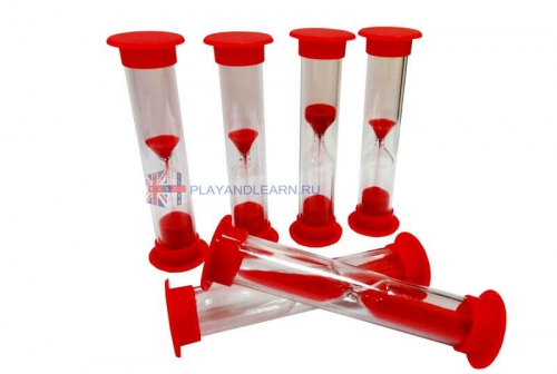 Sand Timer (60 seconds, red)