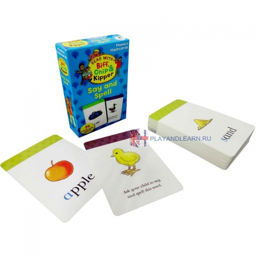 Say and Spell (Phonics Flashcards)
