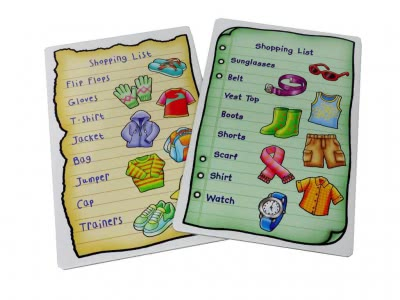 Shopping List Extras (Clothes)