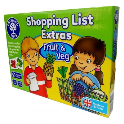 Shopping List Extras (Fruit & Veg)