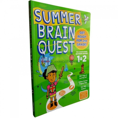 Summer Brain Quest 1, 2