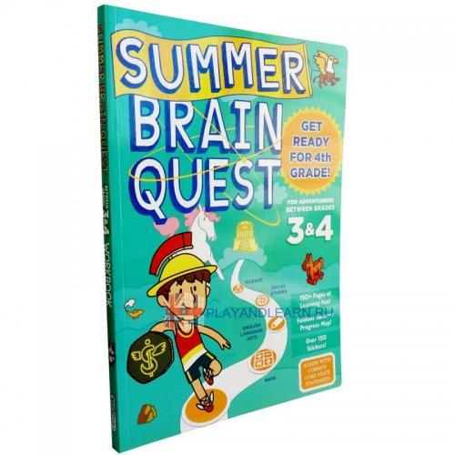 Summer Brain Quest 3, 4