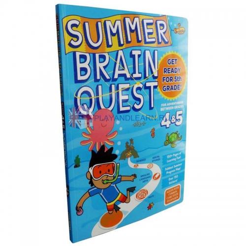 Summer Brain Quest 4, 5