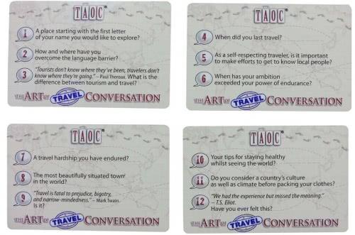The Art of Travel Conversation