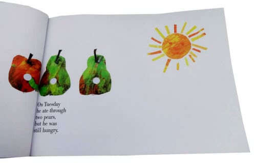 The Very Hungry Caterpillar (soft cover)