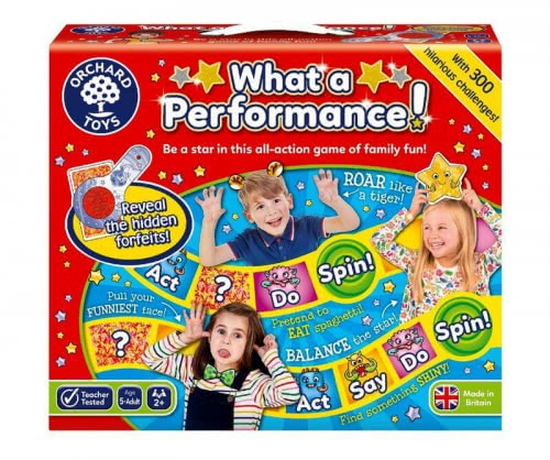 What a Performance настольная игра