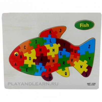 Alphabet Pattern (Fish)