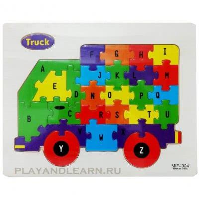 Alphabet Pattern (Truck)