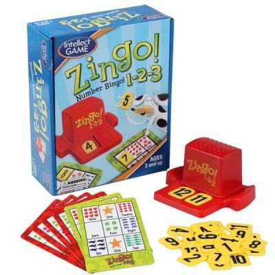 Zingo Number Bingo