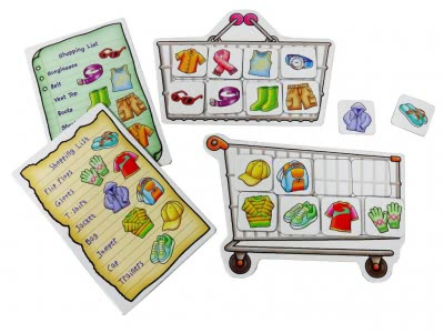 Shopping List with Extras (Clothes, Fruit&Veg)