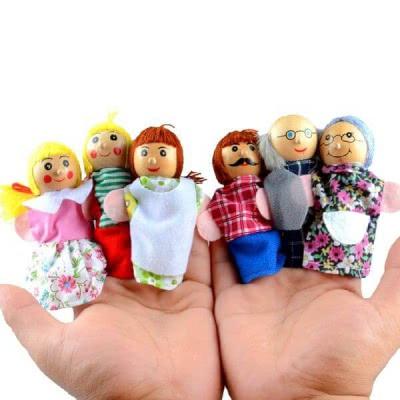 """Набор кукол """"Семья"""""""