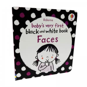 Baby's Very First Black and White Book. Faces