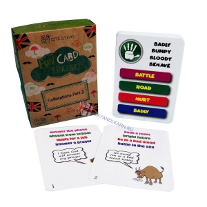 Collocations (part 2) Fun Cards