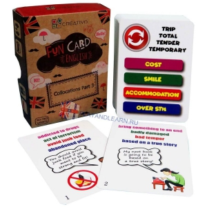 Collocations (part 3) Fun Cards