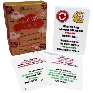 100 Useful Phrases Fun Cards