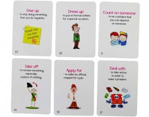 Phrasal Verbs in Conversation Fun Cards