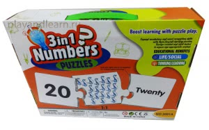 Numbers 1-20 (puzzles)