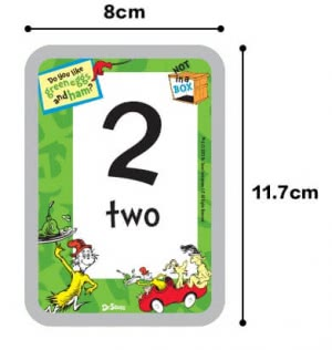Flash Cards Dr Seuss Numbers 1-20