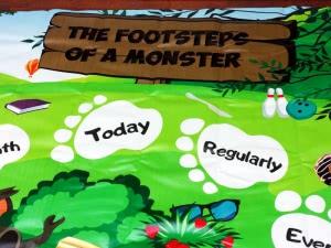 Footstep Monster
