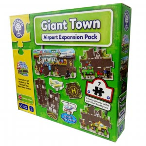 Giant Town Airport orchard toys игра
