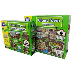 Giant Town with Airport (Expansion)