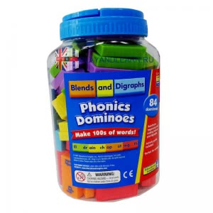 Phonics Dominoes (Blends & Digraphs)