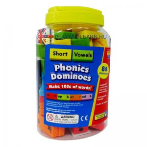 Phonics Dominoes (Short Vowels)