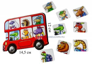 Little Bus Lotto Orchard Toys