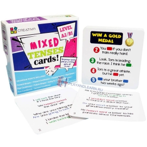 Mixed Tenses Cards (level A2-B1)