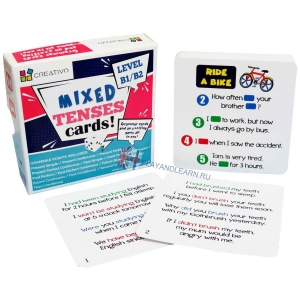 Mixed Tenses Cards (level B1-B2)