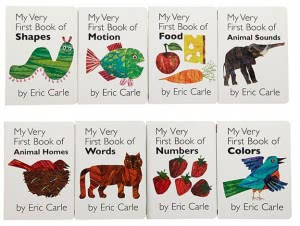 My Very First Library by Eric Carle (8 books)