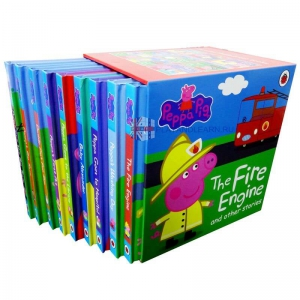 Peppa Pig. The Fire Engine and Other Stories (9 books set)