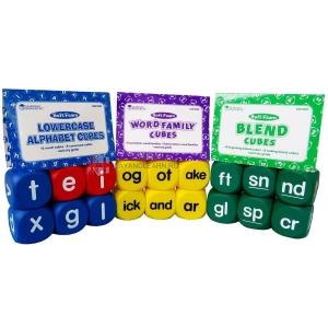 Phonics Cubes Class Set