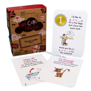 Phrasal Verbs Part 2 Fun Cards