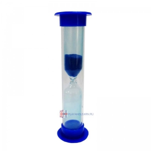 Sand Timer (60 seconds, blue)