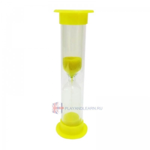 Sand Timer (60 seconds, yellow)