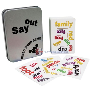 Say Out Bingo Word Game