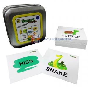 Smart Cards. Wild Animals